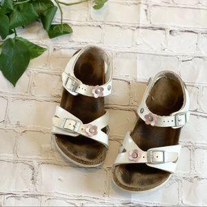 Birkenstock flower sandals